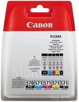Canon CLI-571 Multipack (PGI 570+C+M+Y+BK) (Eredeti)