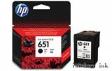 HP C2P10AE Fekete Tintapatron (HP 651) (Eredeti)