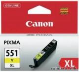 Canon CLI-551XL Sárga Tintapatron (Eredeti)