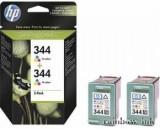 HP C9505EE Tintapatron 2db-os (HP 344) (Eredeti)