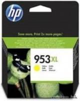 HP F6U18AE Tintapatron (HP 953XL Sárga) (Eredeti)