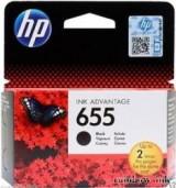 HP 655 Fekete Tintapatron (Eredeti)