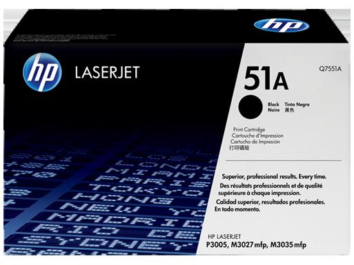 HP Q7551A Toner (Eredeti)