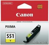 Canon CLI-551 Sárga Tintapatron (Eredeti)