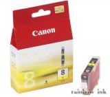 Canon CLI-8Y Sárga Tintapatron (Eredeti)